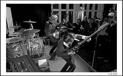 Perry Dear & The Deerstalkers (9) (frode skjold) Tags: perrydearthedeerstalkers perøydir bjarteagdestein bernterikandreassen magnusforseth mir toftesgate oslo norge norway grünerløkka beat 60´s theindikation peterberrytheshakeset leicadlux5 blackwhite bw monochrome music musicians concert gig stage band group fendervibass burns burnsoflondon vox ludwigdrums