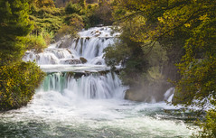Dreamy Falls (pietkagab) Tags: krka waterfalls falls river autumn autumnal longexposure clolor spray dreamy trees forest nature outdoors croatia europe nationalpark pietkagab photography pentax piotrgaborek pentaxk5ii travel trip tourism trail hike trek sightseeing adventure