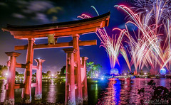 Torii Fireworks! (andrew_carter091) Tags: disneyfireworks disneyphotography disneyside disneyphotographer disneyattraction disney disneycolors waltdisney disneyparks disneycharacter disneyvacationclub waltdisneyworldresort disneyaddict disneyworld waltdisneyworld epcot spaceshipearth futureworld worldshowcaselagoon worldshowcaseplaza worldshowcase japan toriigate illuminations illuminationsreflectionsofearth sky clouds water reflection camera professionalphotographer photo nighttimephotography photographer photography travelphotographer travelphotography nikon nikond3300
