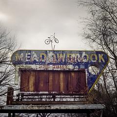 Meadowbrook (engjoneer) Tags: abandoned canonetgiiiql17 ektar100 film sign type