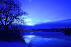 The Blue Sky (Photolove2017) Tags: nikondx bluehour blue sky reflection tiaphoto photolove2017 ottawa d3100 nikon