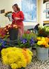 P1050305_edited-1 (ksztanko) Tags: market funchal flowerseller traditionalcostume