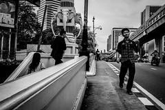 Bangkok 2016 (Johnragai-Moment Catcher) Tags: people photography street streetphotography blackandwhite blackwhite bangkokstreet olympus omdem1 olympusmzuiko17mmf18