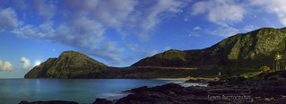 Makapuu Bay and Lighthouse night shoot