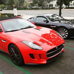 They look good together. #jaguar #ftype #twins
