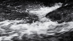 swish (Shannon Leigh Photography) Tags: bw water river flow le nature rocks waves foam splash swish slp april2017