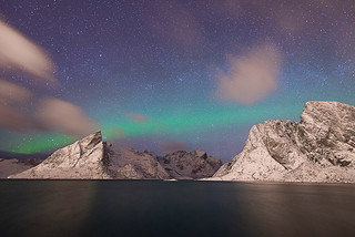 Northen Light at Reine