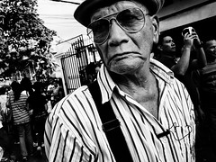 (Meljoe San Diego) Tags: meljoesandiego ricoh ricohgr streetphotography street closeup candid people monochrome procession