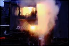 Cup of Tea? (Welsh Gold) Tags: js locomotive cab dongbolizhan sandaoling xinjiang province china