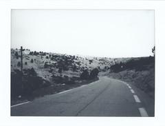 Instax Monochrome: Ventoux 2/3 (Jorn Straten) Tags: ventoux france instax mini roads mountain paca fujifilm instant polaroid monochrome