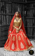 bridal-red-lehnga-golden-blouse (geetanjalidesignstudio) Tags: highfashion vancouver fashionweek raasleelabridalfashionweek vancouverconventioncentre bridalfashionweek2017 raasleelafashionweek2017 torronto canada indianbride indianstyle celebritystyle indianweddingdresses bridallehnga indianwedding mordernindianwedding