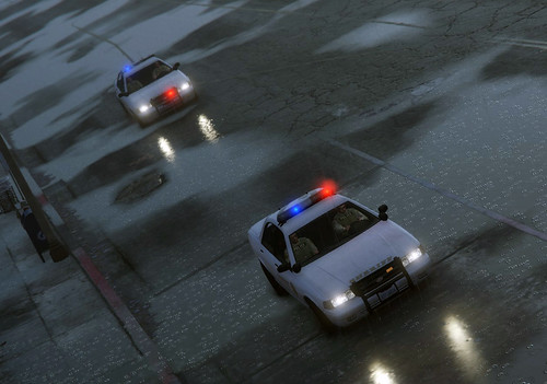 Los Santos County Sheriff, San Andreas (AJM PS3/PS4 Network