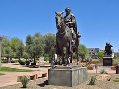 Phoenix, Arizona (Jasperdo) Tags: phoenix arizona roadtrip wesleybolinmemorialplaza fatherkinostatue statue art artwork