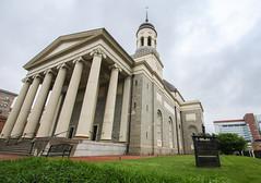 Baltimore Basilica (Lawrence OP) Tags: baltimore basilica assumption nationalshrine benjaminhenrylatrobe facade columns