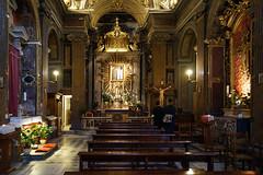 S Maria del Trivio (fr@nco ... 'ntraficatu friscu! (=indaffarato)) Tags: italia italy lazio roma rome chiesa centrostorico maria trivio
