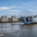 Police Boat and HMS Ocean