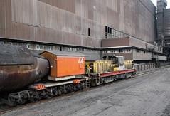Big Keith (Dave McDigital) Tags: applebyfrodingham industrialrailway scunthorpe steelworks britishsteel hunslet torpedo molten iron bos locomotive