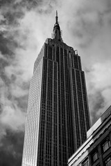 Where's Kong? (DHaug) Tags: empirestate building architecture skyline blackandwhite newyork nyc manhattan midtown fujifilm xt2 xf35mmf14r