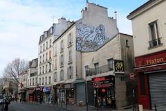 zoo project invader (Luna Park) Tags: paris france graffiti zooproject invader spaceinvader tileart streetart lunapark