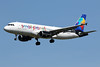 22 avril 2017 - SMALL  PLANET  AIRLINES - Airbus  A 320  (LY-ONL) - LFBO - TLS