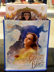 LA Belle 17 Inch Doll Release at the Disney Store - 2017-03-17 - My Belle Doll Inside Belle Bag (drj1828) Tags: us disneystore beautyandthebeast liveactionfilm belle ballgown yellow 2017 limitededition le5500 release instore purchase