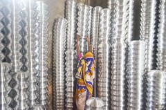 Aluminium factory! (ashik mahmud 1847) Tags: d5100 bangladesh nikkor pattern working woman light