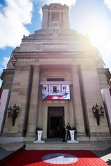 "New Memorial honouring the 64 Freemasons awarded the Victoria Cross during WW1 unveiled by HRH The Duke of Kent at FreemasonsÔÇÖ Hall (15) - Photo credit Chris Allerton - UGLE • <a style=""font-size:0.8em;"" href=""http://www.flickr.com/photos/60049943@N02/33461435784/"" target=""_blank"">View on Flickr</a>"