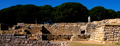 Historic time travel to the Ruins of the Empuries in Catalonia, Spain (JRJ.) Tags: spain empuries history greeks romans mediterranian museum ancienttimes