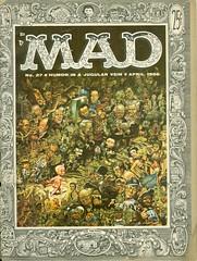 """""""MAD MAGAZINE"""" # 27  / April / 1956.  (Portada) (gubama) Tags: mad madmagazine revista revistamad eua número27 magazine 1956 abril1956 27 portada"""