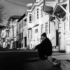 Heybeliada, Prince Islands, Istanbul (emrecift) Tags: candid street portrait landscape cityscape istanbul heybeliada princeislands analog mediumformat 6x6 filmphotography bw monochrome grain yashicamat124 tlr yashinon80mmf35 ilforddelta400 ilfosol3 114 emrecift filmdev:recipe=11382 ilfordilfosol3 film:brand=ilford film:name=ilforddelta400 film:iso=400 developer:brand=ilford developer:name=ilfordilfosol3