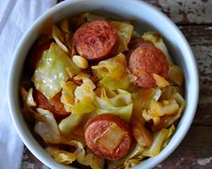 25 Minute Dinner Smo (alaridesign) Tags: 25 minute dinner smothered cabbage with smoked sausage