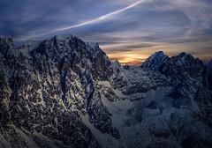Austrian Mountains (Explored 8-4-2017) (mcalma68) Tags: austria mountains sunset snow winter gletjers ellmau