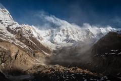 Annapurna Base Camp (Kate Nichanun) Tags: landscape nature beautiful life canon mountain nepal trekking annapurna abc basecamp annapurnabasecamp