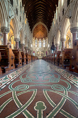 St. Colemans Cathedral Cobh (Des Daly) Tags: shift cathedral cobh panorama floor tiles cork ireland church