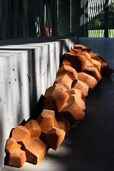 IMG_4111 Resort to a corner (marklarmuseau) Tags: robbrechtendaemarchitekten pavilionhethuis thehouse middelheimmuseum antwerp belgium sculpturepark antonygormley exhibition firmamentandotherforms