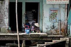 Chicken for sale (albertlondon) Tags: vietnam mekong mekongriver boats fishing