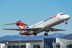 VH-YQX QF B717 35 YSCB-6703 (A u s s i e P o m m) Tags: canberra australiancapitalterritory australia au qantaslink qlk qantas qf boeing b717 cbr yscb canberrainternationalairport