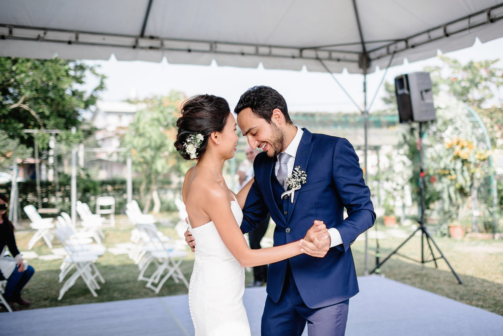 戶外婚禮,婚禮攝影,美式婚禮,高雄美濃,菸城民宿