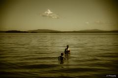 Half light (.KiLTRo.) Tags: villarrica ixregión chile kiltro lago lake agua summer water fun verano