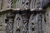 Lilleshall, Shropshire, abbey ruins, doorway, detail