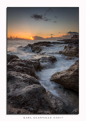 Xghajra sunrise (glank27) Tags: xghajra malta seascape rocks stream water mediterranean sea canon eos 70d efs 1585mm f3556 karl glanville sunrise island sky fisherman fishing peaceful ngc
