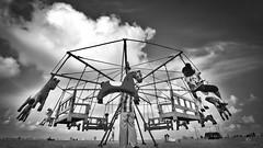 Merry-go-Round... (aestheticsguy2004) Tags: neeteshphotography nikon nikond750 nikond750tamron1530 landscape blackwhite blackwhitephotography marinabeach chennai india travelphotography travelindia