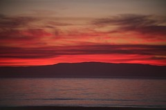 Blood red sky (alison2mcewan) Tags: sky sunset scotland red cloud sunsetting water