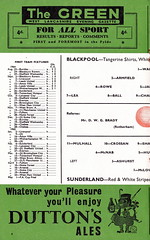 Blackpool vs Sunderland - 1964 - Page 6 (The Sky Strikers) Tags: blackpool football club sunderland league division one bloomfield road official programme 4d