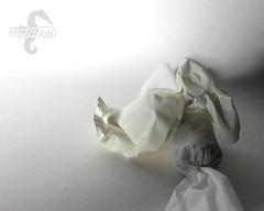 Preparing for the Holidays (mitanei) Tags: origami bunny rabbit origamirabbit orgiamibunny mitanei animals hase papierkunst paperart papierskulptur papersculpture