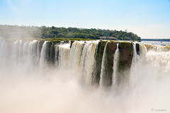 Las cataratas de Brasil desde Argentina (Angela MGM) Tags: parquenacionaliguazú brasil argentina iguazú naturaleza landscape paisaje agua cascada viaje lugares travel natural