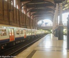 Platform 1 (M C Smith) Tags: station platform light sky roof track carriage arches