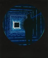 Into The Void (Ray Liu Photography) Tags: lightcrawler roundframe polaroid instant roidweek polaroidweek neon lights void shadow