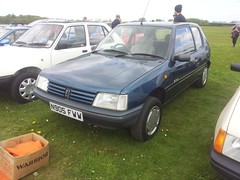 1995 Peugeot 205 Inca D (quicksilver coaches) Tags: peugeot 205 n905fww bicesterheritage bicester