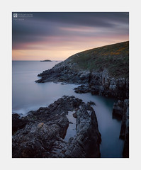 Fortune (Stuart Leche) Tags: cliffs clouds coast erosion geology gorse landscape longexposure outdoor pembrokeshire rockpool rocks scenery scenic sea seascape serene spring stuartleche sunset wwwstuartlechephotography
